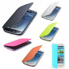 Slim Hard Luxury Case Cover Flip Leather PU For Samsung Galaxy S3 S III i9300