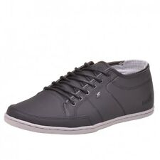BOXFRESH MENS SPARKO GL LEA MARBLE SHOES BLACK