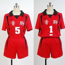 Haikyū!! Nekoma High NUMBER 1/5 Volleyball Jersey Cosplay Costume Haikyuu Haikyu