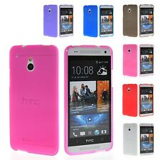 Soft Tpu Silicone Skin Style Devise Back Case Cover For HTC One Mini M4
