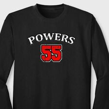 POWERS 55 Kenny T-shirt Funny Eastbound And Down Mermen Long Sleeve Tee