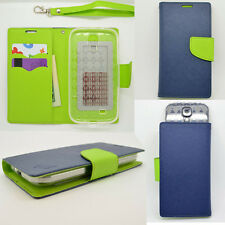IDENTITY Ocean Blue Universal Wallet Phone Case Pouch Flip Cover For Huawei