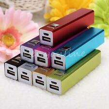 USB 2600mAh Phone Power Bank 18650 Battery Charger Box for Iphone Samsung HTC