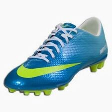 NEW Mens 11.5 NIKE Mercurial Vapor IX AG TF Artificial Turf Blue Soccer Cleats