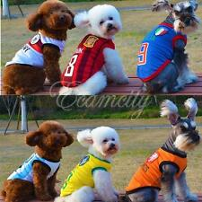 2014 World Cup Football Soccer Pet Dog Mesh Vest T-shirt Jerseys Breathable New