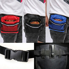 Endearing Pet Bait Waist Pouch Puppy Based Training Bag with Buckle Belt CA JX