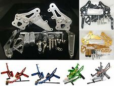 Adjustable Rearsets Rear Set Footpegs For 2006-2010 SUZUKI GSXR 600 750 K6 K8 K9