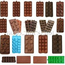 Silicone Mould Mold Chocolate Cake Cookie Muffin Candy Cube Cupcake Ice Tray