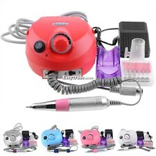 30000 RPM professional pink electric nail drill file bits machine Manicure Kit