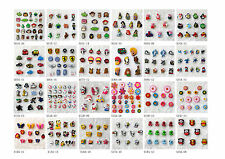 Party Kids Favor Gifts Cartoon Shoe Charms Set fit Bracelets Bands Free shipping