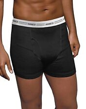Hanes Men's TAGLESS®  Boxer Briefs Comfort Flex® Waistband 3X-5X 4-Pack 312HNBX4