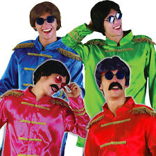 60s 70s SERGEANT PEPPER FANCY DRESS COSTUME SGT JACKET BEATLES POP STAR FAB 4