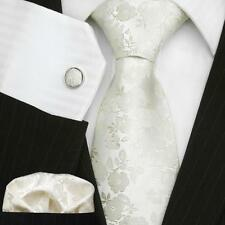 Floral Wedding Tie Sets; UK Formal Necktie Set; Men's Gifts; Silk Necktie Sets