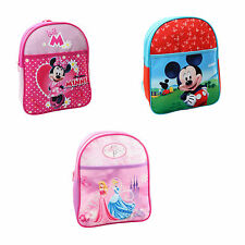 DISNEY CHARACTER CHILDRENS JUNIOR BAG BACK PACK SCHOOL BAG