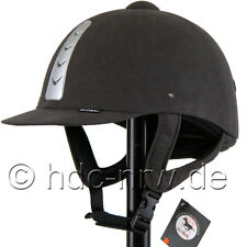 Riding Helmet Global Anthracite/Silver 54-59 Safety Helmet Riding Cap New