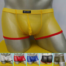 Sexy Men Shorts Comfortable Transparent Panty Underwear Boxer briefs Size S M L