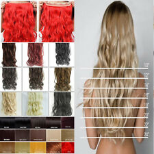 US Various color/lengh/styles 3/4 full head clip in hair extension real topA AM2