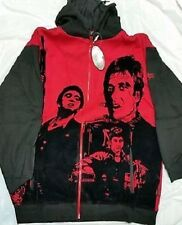 SCARFACE TONY MONTANA FACES RED ZIP UP HOODIE SWEATSHIRT MENS SIZE 4XL, 5XL