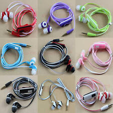 3.5mm Stereo In-ear Headphone Earphone Headset Earbuds With Mic for Mobile Phone