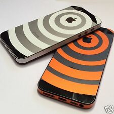 FOR APPLE iPhone 5S 5 4S Decal Sticker Side Body Logo Ultra Thin Wrap Bumper