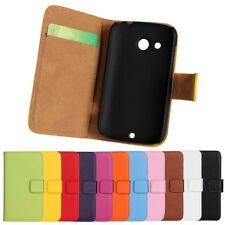 For HTC Desire C  G7C Wallet Leather Phone Flip Case in cell phone accessories