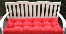 """INDOOR OUTDOOR SWING BENCH CUSHION - 48""""  X 18"""" - 4 FT - CHOOSE SOLID COLORS"""