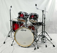 """Ludwig Element ALL-BIRCH """"POP"""" Drum Set Lacquer Finish w/ Heavy Duty Hardware"""