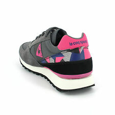 LE COQ SPORTIF ECLAT 90 GRAPHIC RETRO SHOES TRAINERS RUNNING SNEAKERS GREY NEW