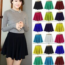 New Fashion Autumn Winter Women Soft Pleated High Waist Skinny Short Mini Skirt