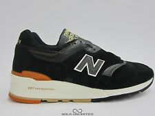 NEW BALANCE AUTHORS PACK 997 BLACK M997PR NEW SIZE 9-13 SUEDE LEATHER RUNNING