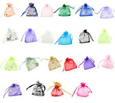 Wholesale Luxury Drawable Organza Wedding Gift Bag Jewellery Packing Pouch 9x7cm