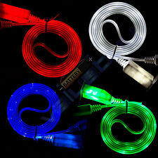 Visible LED Light Micro USB Charger Data Sync Cable for HTC Samsung Galaxy S3 S4