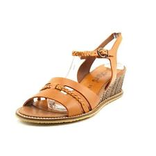 Kickers Sissi Womens Leather Wedge Sandals Shoes