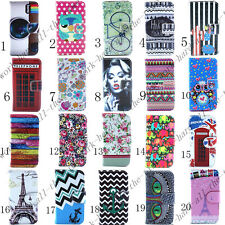 New Hot Sale Flip Wallet Card Holder PU Leather Stand Case Cover For iPhone 4 4S