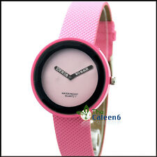 New Popular HOT Quartz Unisex Sports 9 Colors Wrist Watches Without Second Hand