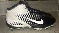 NEW Mens Sz 12 NIKE Air Zoom Alpha Talon TD Black White Molded Football Cleats