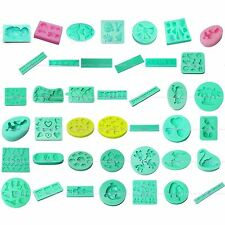 3D Clay Soap Silicone Mold Sugarcraft Fondant Cake Cookie Flower Decorating Set