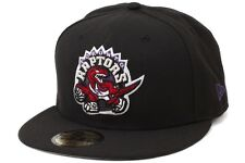 New Era Patch Enthusiast Toronto Raptors Mens Black Red Lifestyle Fitted Cap