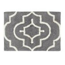 "Misha Geo Bath Rugs by Colordrift 100% Cotton 20"" x 30"" Assorted Colors!"