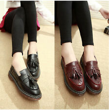 New Spring Vintage Leisure Shoes Flats Shoes Tods Muffin Womens Shoes Tassel DUA