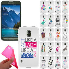 For Samsung Galaxy S5 Active G870A Flexible TPU Gel Silicone Rubber Case Cover