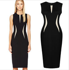 Cool Beautiful Lady Formal Party Pencil Dress Womens Business Dress 2481046