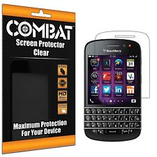 6X COMBAT HD Screen Protector Film Cover Shields For Blackberry Q10