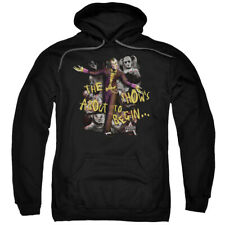 Batman Arkham City Show's About To Begin Licensed Adult Pullover Hoodie S-3XL