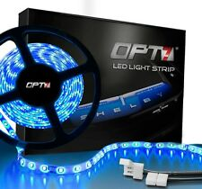 OPT7 Auto 16ft LED Light Strip 300 SMD Flexible 12v Yellow Red Blue Green White