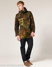 Flecktarn German military parka army camo camouflage BUndeswehr coat jacket