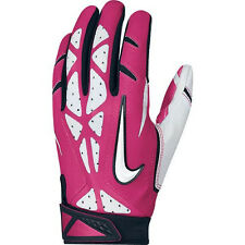 NEW Mens Sz 2XL NIKE Vapor Jet 2.0 Skilled Players Pink White Football Gloves