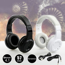 New Bluedio Bluetooth 4.1 Wireless Stereo Turbine Hurricane Headphones Headset