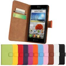 For LG P760 Optimus L9 Wallet Leather Case in cell phone accessories