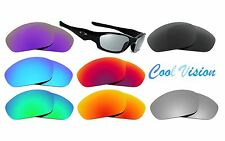 New Polarized Replacement Lenses for Oakley Straight Jacket (2007) Blue, Fire